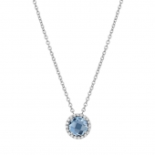 December Birthstone Necklace.  List Price: $130    Our Price: $104