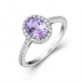 Purple Stone Fashion Ring.    List Price: $145      Our Price: $116