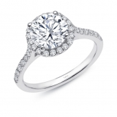 Round Halo Ring.  List Price: $175    Our Price: $140