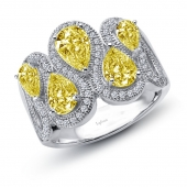 Yellow Pears Ring.    List Price:   $345      Our Price: $276