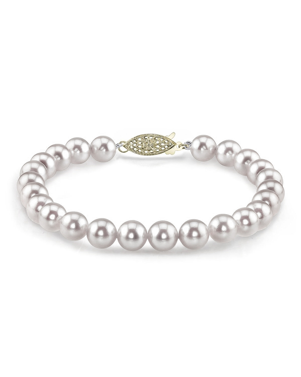 """7.5"""" Akoya Pearl Bracelet    Price Range: $165-$300"""
