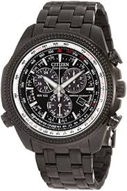 BL5405  - Eco-Drive With Perpetual Calendar And Black Stainless Steel.    List Price: $525      Our Price: $420
