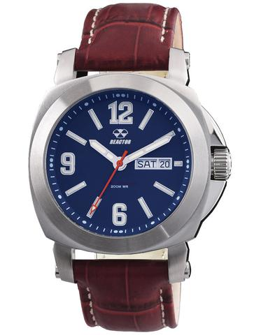 48303  - Fermi Superluminova Blue Dial, Stainless Steel Case & Brown Leather Strap.    List Price: $400      Our Price: $320