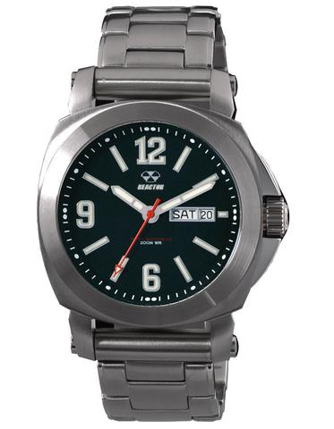 48601  - Fermi Superluminova Black Dial & Stainless Steel Band.    List Price: $500      Our Price: $400