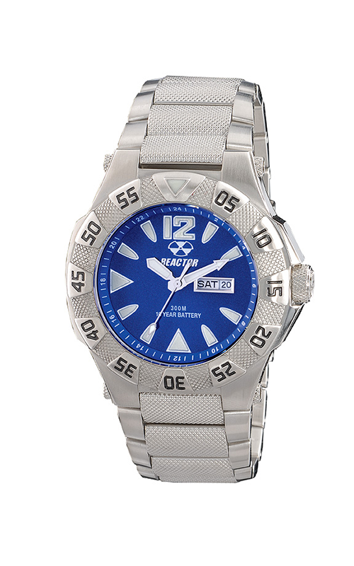 53003  -  Gamma Features A 10 Year Power Cell, 24 Hour Illumination With Blue Dial & Stainless Steel Band.    List Price: $400       Our Price: $320
