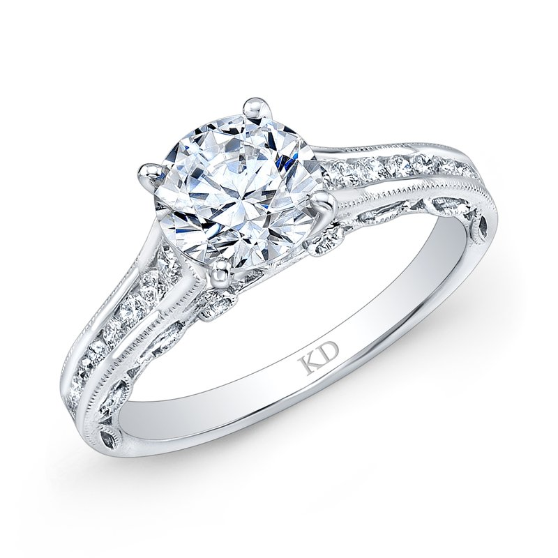 ARD0851   - 0.32 ct Set In 18K White Gold.  List Price: $2,464    Our Price: $1,971