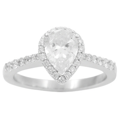 5115PS  - 0.36 ct Set In 14K White Gold.  List Price: $1,850    Our Price: $1,480