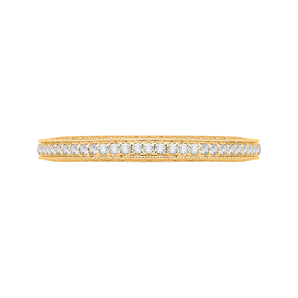 CA0059BK-37  - 0.38 ct. Set In 18K Yellow Gold.  List Price: $1,825    Our Price: $1,460