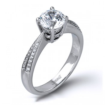 MR1526  - 0.19 ct Set In 18K White Gold Band.  List Price: $1,500    Our Price: $1,144