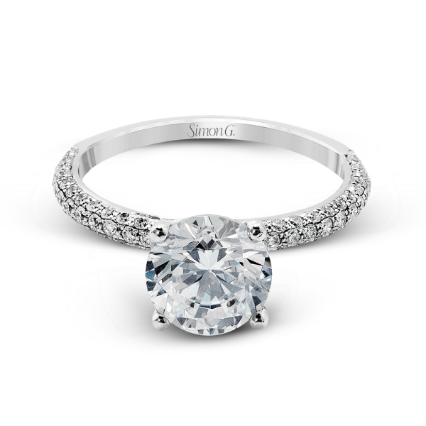 MR1577  - 0.50 ct Set In 18K White Gold.  List Price: $2,530    Our Price: $2,024