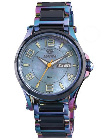 69999  – Women's Cyrstal Superluminova Blue Mother Of Pearl Dial With Rainbow Like Finish Stainless Steel Band.  List Price: $400    Our Price: $320