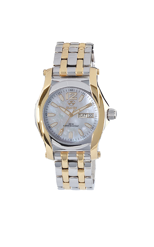 90105  – Women's Curie   Superluminova Dial Analog With Two Tone Stainless Steel.  List Price: $450    Our Price: $360