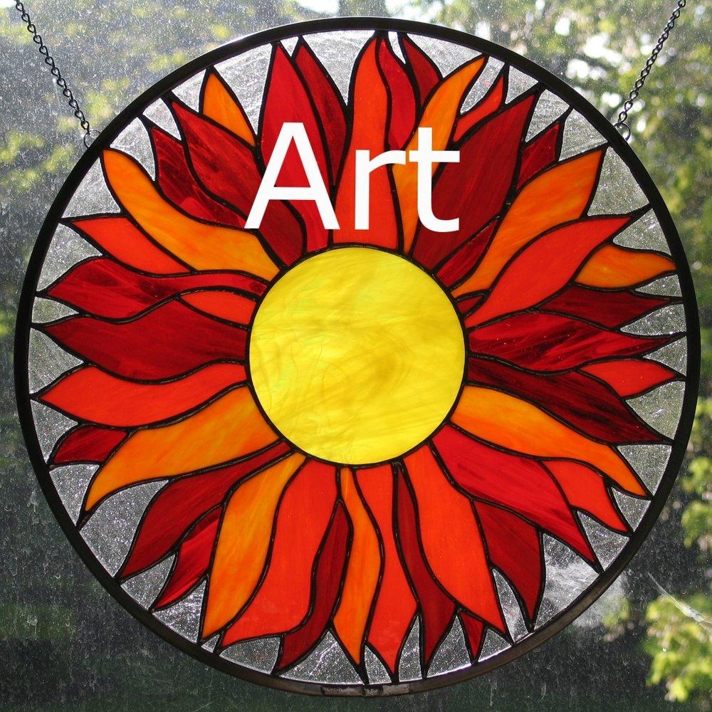 Sun Flower (One in kitchen and one at Don adn Barabara's.jpg