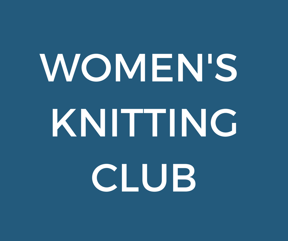A group of women that get together to share laughs and stories as they knit.  This group meets on Monday nights at 7:00pm at the Church. Contact Sandie Duncan at slduncan45@yahoo.com for more information.