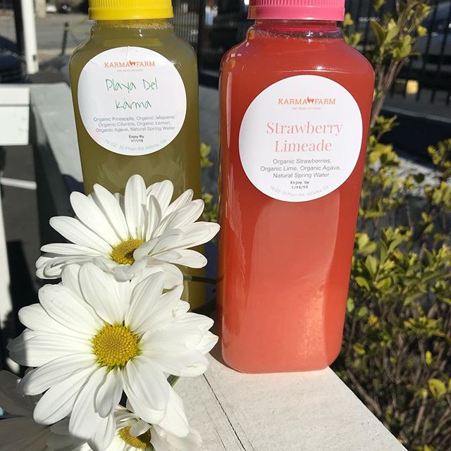 Happy National Gluten Free Day Friends! Did you know our fresh juices are made next door at our sister KarmaFarm, which is certified gluten free? The purest spices and activated charcoal, plus wholesome organic ingredients = the most delish grab n' go drinks in town! #juicin&vibin #realfoodgoodvibes #healthyonthego