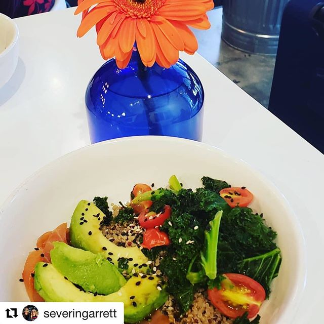 Bright & happy food and vibes. It's the #eatkarmadaisy way! Thanks for the fab 📷 @severingarrett ! Come back to see us soon. #Repost @severingarrett with @get_repost ・・・ We discovered a great little find in the heart of Buckhead today!  Healthy food, great conversation and friendship, what more can you ask for?  #lovethisgirl❤️ #takehealthyback #wellnesswarriors #realfood #plantstrong  #makingalife #joyonthejourney❤️ #morefuntogether⚓️❤️😊🚢⚓️❤️😊🚢⚓️❤️😊🚢