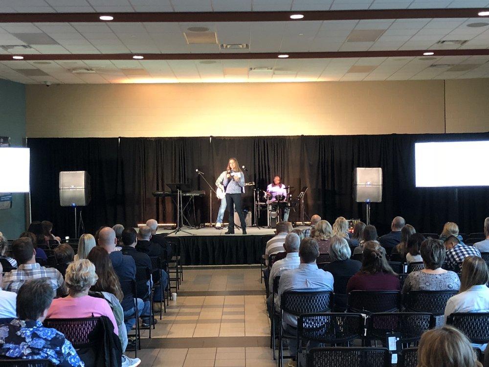 Life West church allendale michigan worship center mi becca preaching.JPG