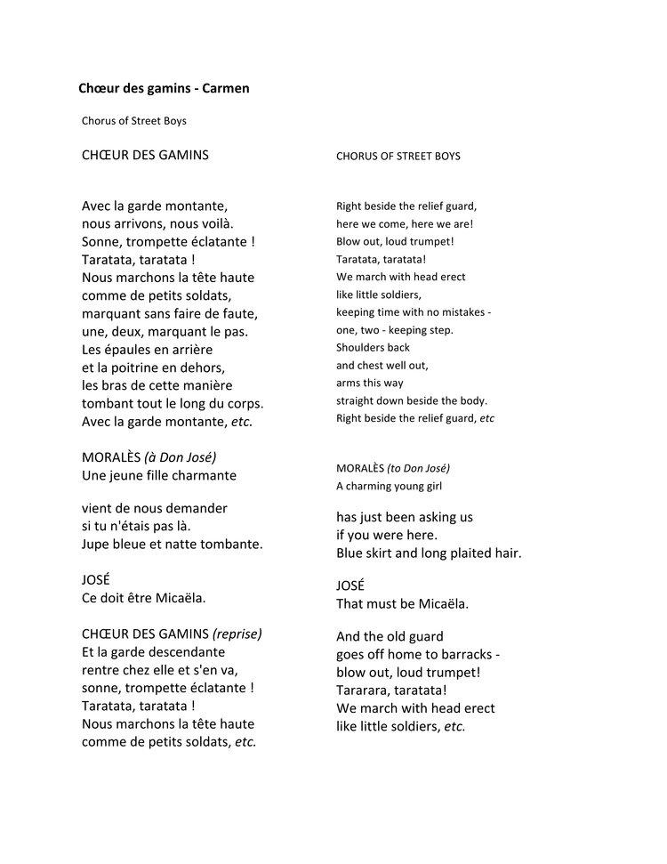 Lyric lyrics opera : Lyrics — Opera For All