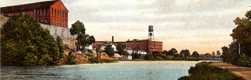 View on Columbia Canal (1925) Postcards of the Midlands Collection
