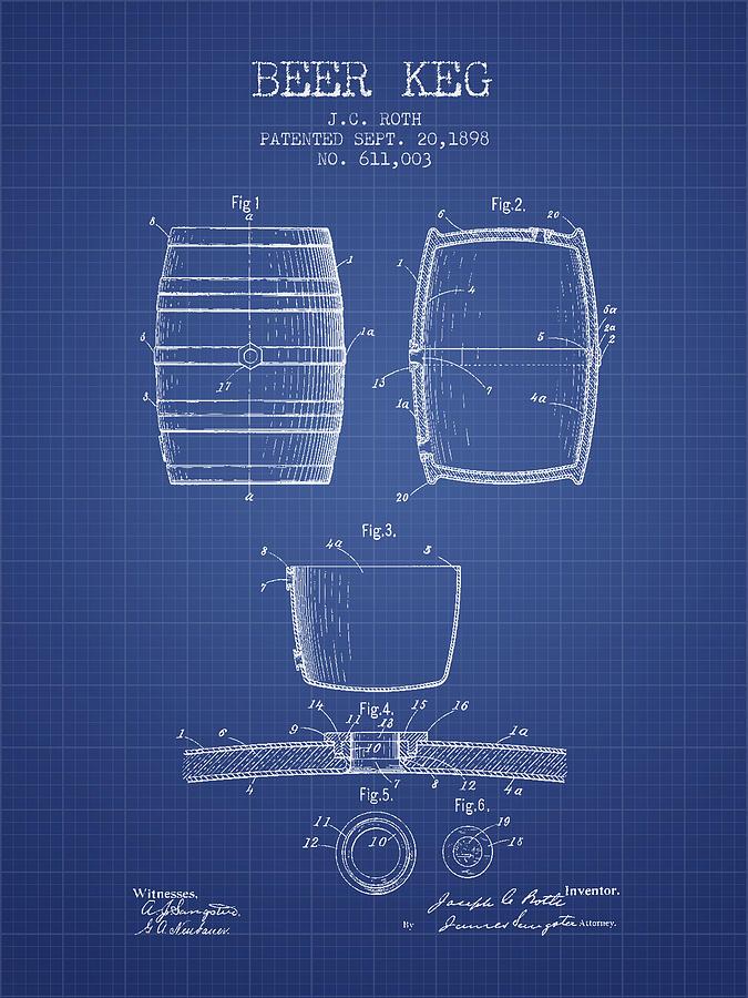 Wine Barrel Blueprint