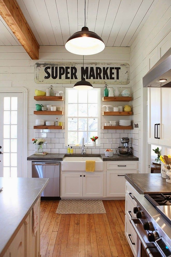 How To Replicate The Farmhouse U0026 Country Style Kitchen