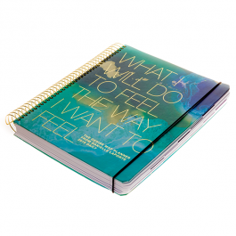 The Desire Map Planner 2018 (Teals & Gold)