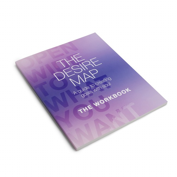 The Desire Map Workbook - Single