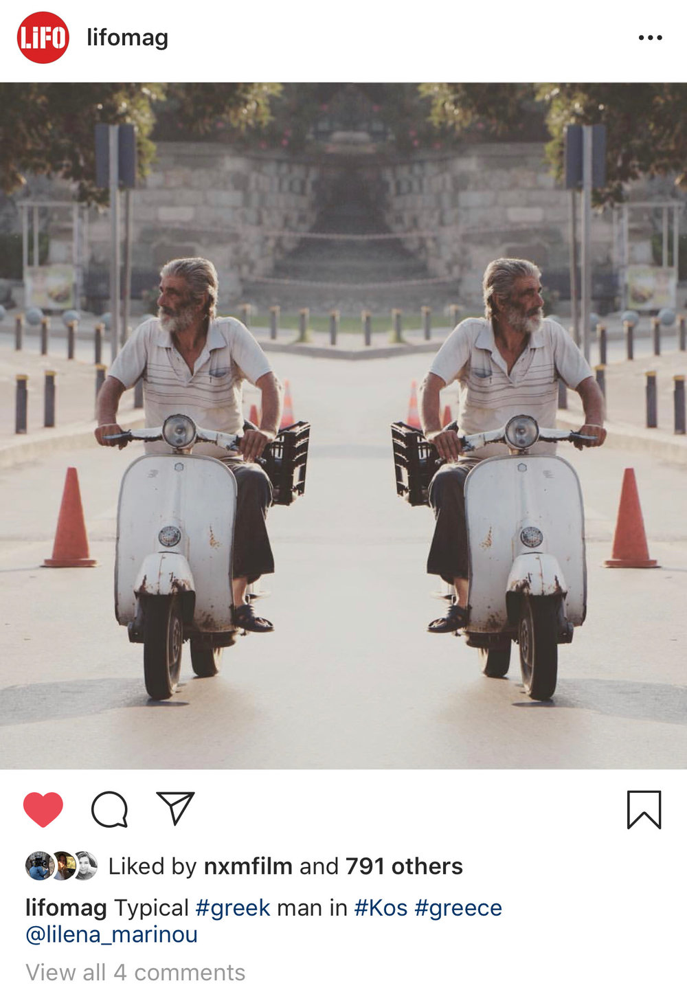 Lifo Magazine - Instagram Feature
