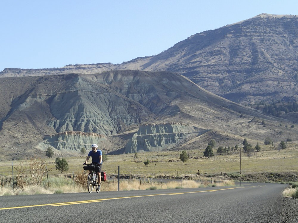 John Day Fossil beds rider