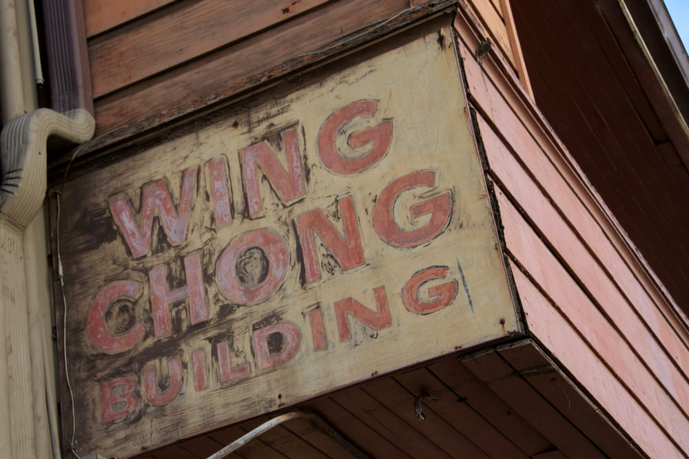 Wing Chong building on Cannery Row