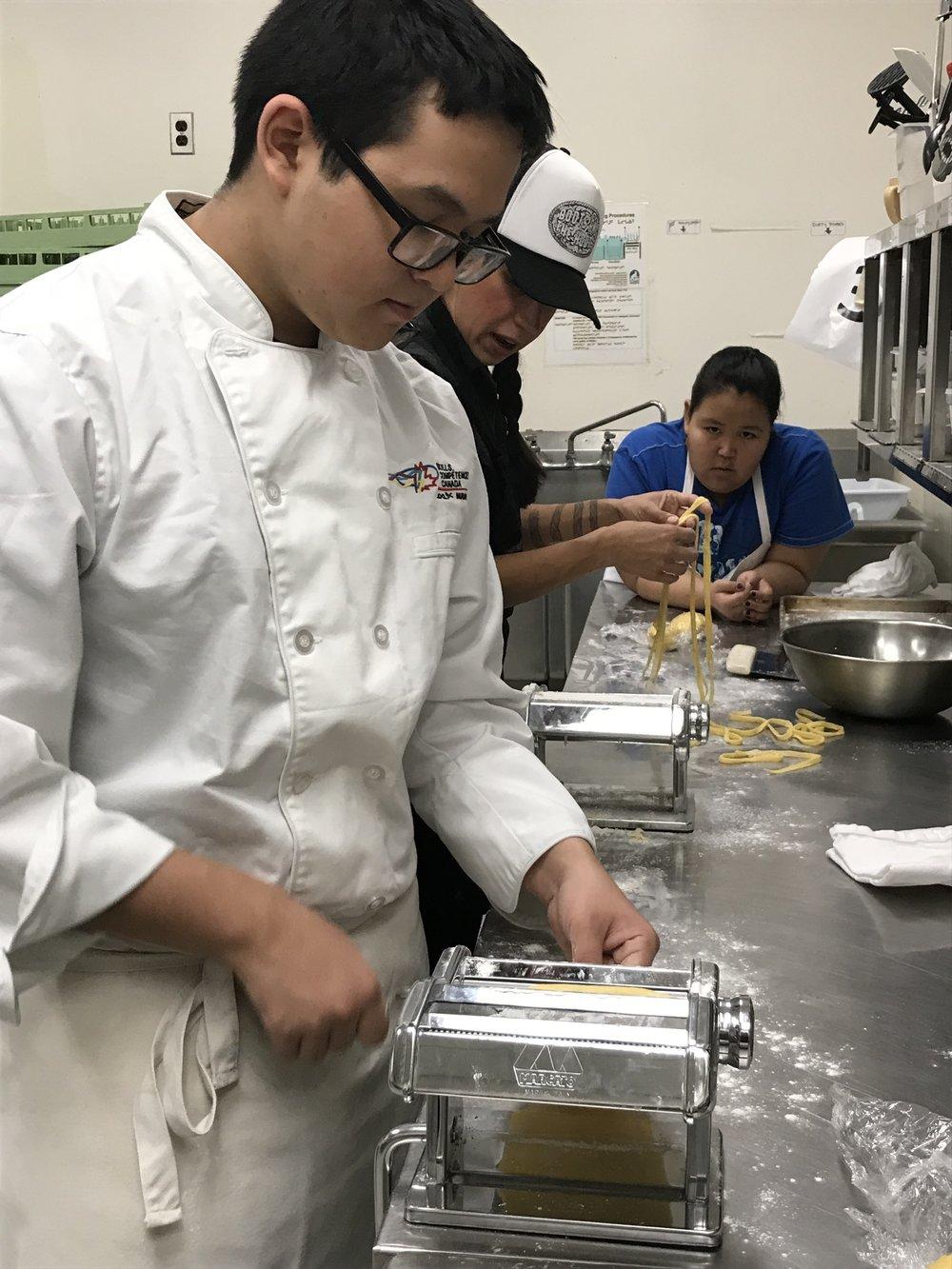 Pasta Making - #NSTTW