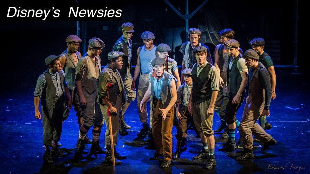 Jack kelly - July 2017 - At Red Mountain Theatre CompanyDisney's Newsies review: