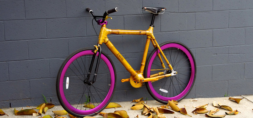Custom built, Bambu Technologies bike.