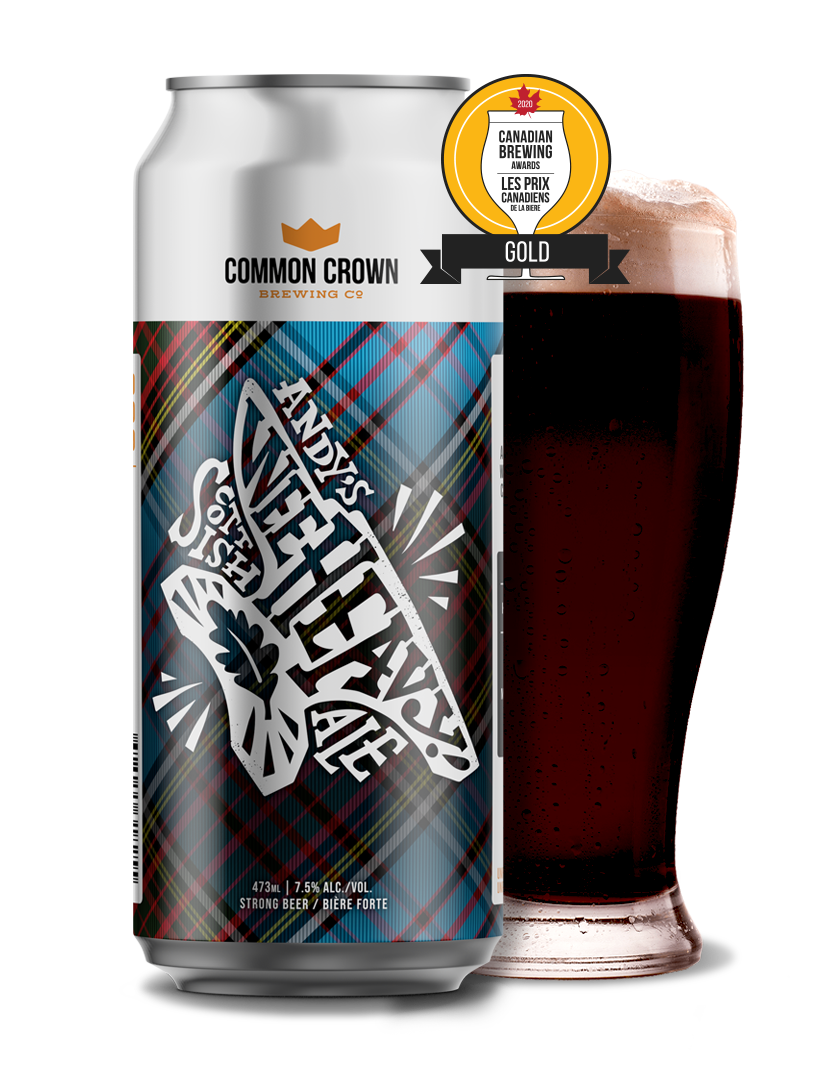 Andy's Wee Heavy Scottish Ale   Common Crown Brewing Co.