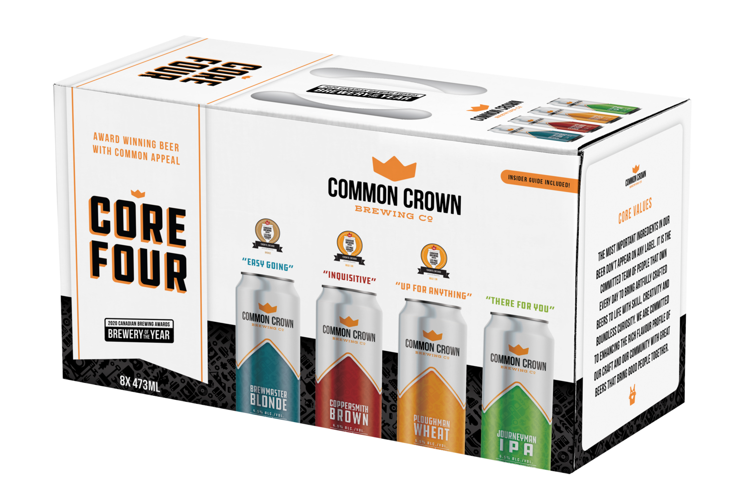 Core Four Variety Pack   Common Crown Brewing Co.