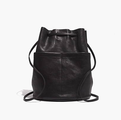 Madewell Convertible Leather Backpack ($188)