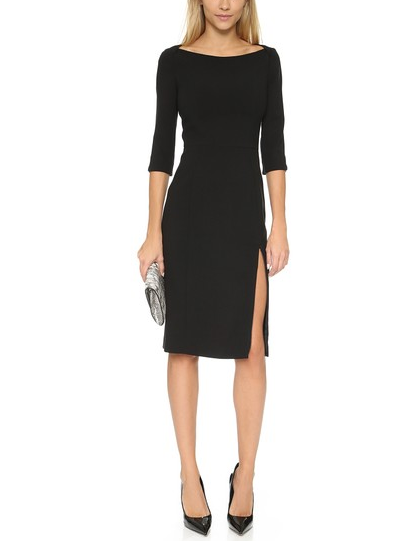 Black Halo Marissa Sheath Dress $345