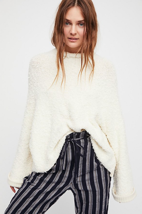 Free People Cuddle Up Pullover $128