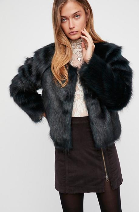 F  rankie Fur Coat $98