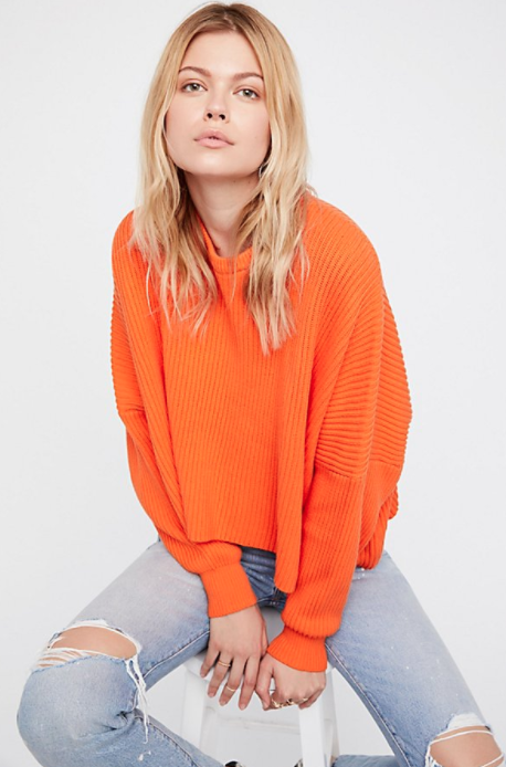 Free People Piers & Palms Pullover $78