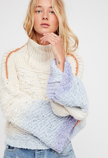 Free People Calm Waters Pullover $228