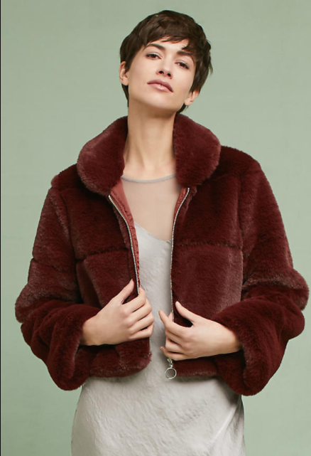 Lina Faux Fur Coat $298
