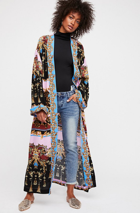 Free People Let's Dance Robe $128
