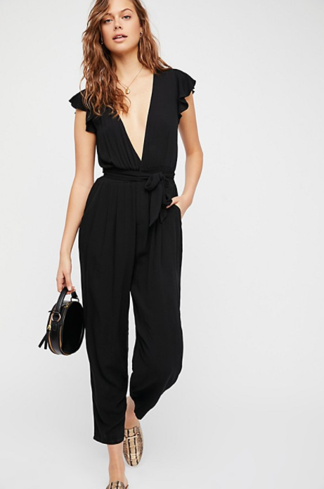 Free People Ruffle Your Feather One Piece $118