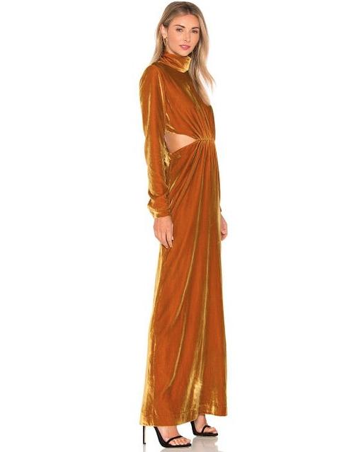 Sova Velvet Dress $565