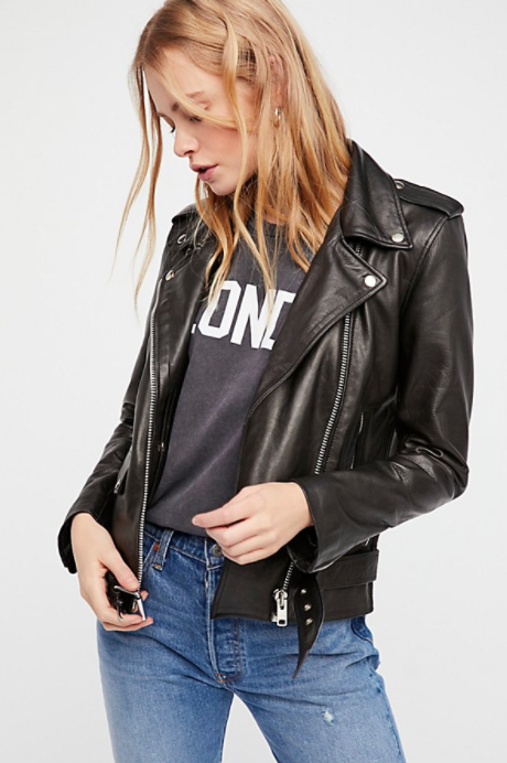 Lightweight Leather Jacket -