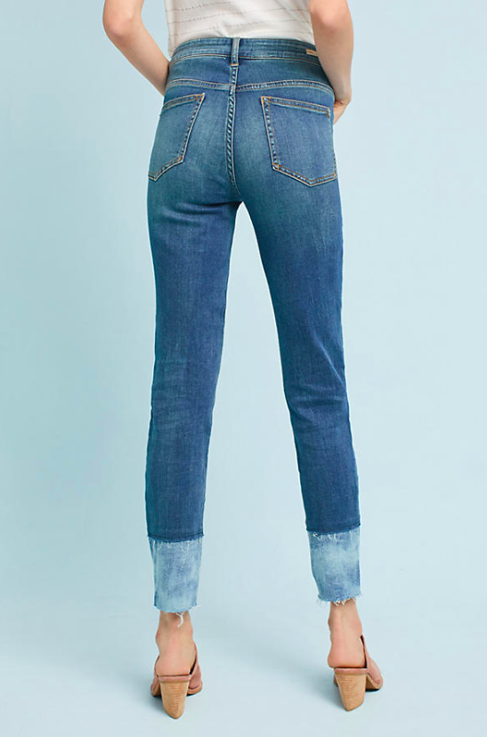 Pilcro Mid Rise Skinny Ankle Jeans $138