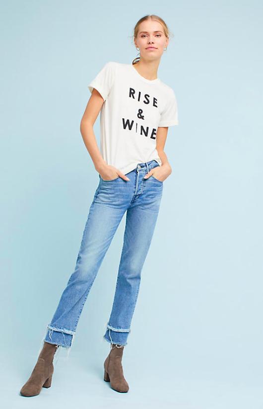 Sol Angeles Rise & Wine Tee $78