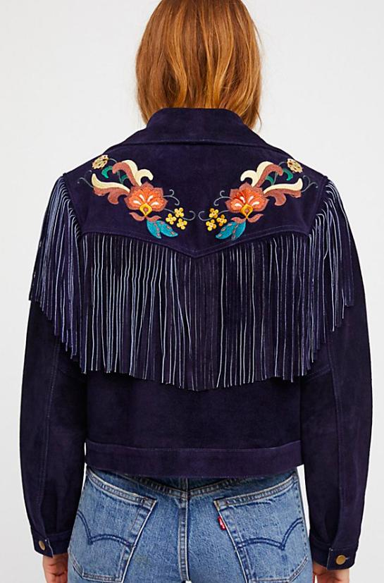 Free People Fringe Jacket $715