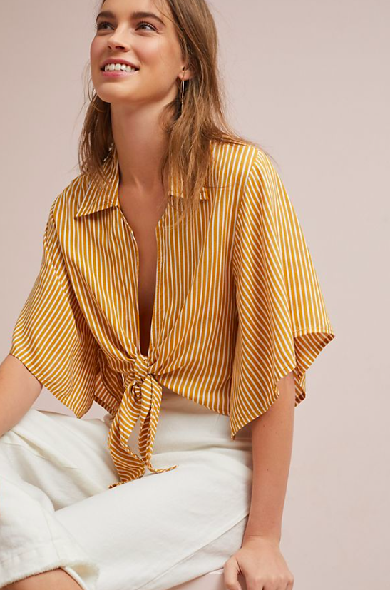 Faithfull Mojave Striped Blouse $98